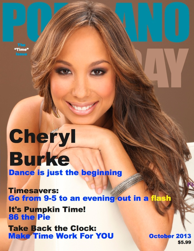 Pompano Today October 2013-Cheryl Burke COVER