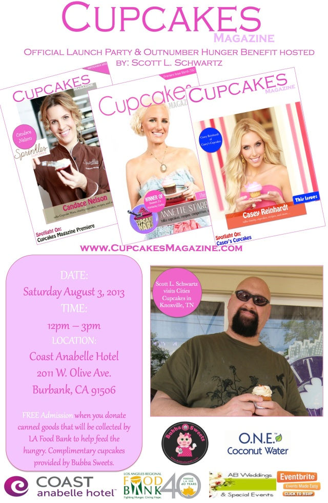 Cupcakes Magazine Launch Party