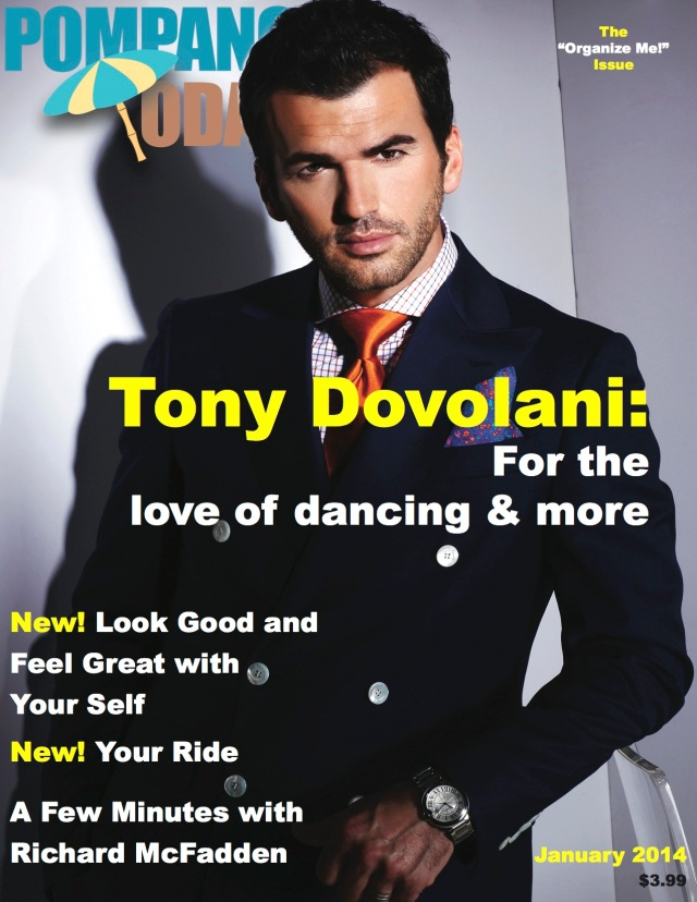 Tony Dovolani Cover Pompano Today